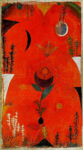 Paul Klee Flower myth, 1918