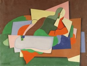 Reclining Man, 1925 - Georges Valmier